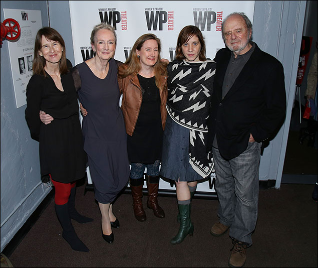 Polly Noonan, Kathleen Chalfant, Sarah Ruhl, Kate Whoriskey and Harris Yulin
