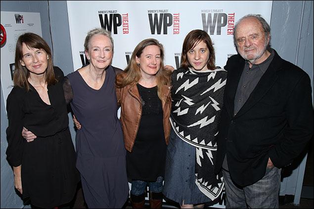 Polly Noonan, Kathleen Chalfant, Sarah Ruhl, Kate Whoriskey and Harris Yulin