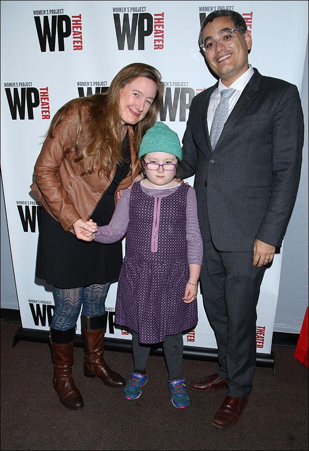 Sarah Ruhl, Anna Charuvastra and Tony Charuvastra