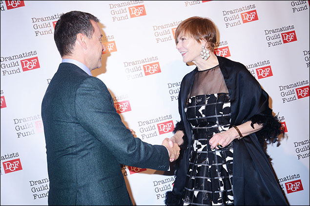Andrew Lippa and Lynne Greene