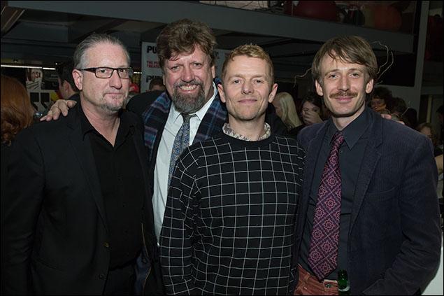 Mark Russell, Oskar Eustis, Simon Will and Bastian Trost