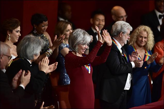 Seiji Ozawa, Rita Moreno, George Lucas and Carole King