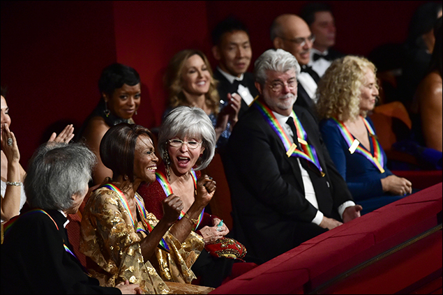 Seiji Ozawa, Cicely Tyson, Rita Moreno, George Lucas and Carole King