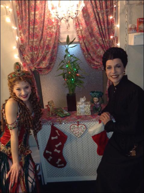 A little Swedish Holiday festivity with Kara Klein and Ellen Harvey at Phantom