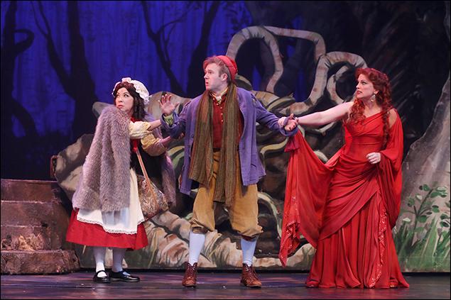 Jennifer Cody, Jeremy Morse and Jacquelyn Piro Donovan at North Carolina Theatre