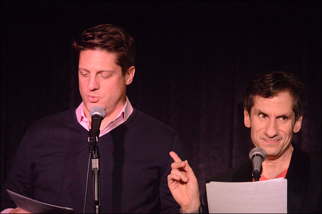 Christopher Sieber and Seth Rudetsky