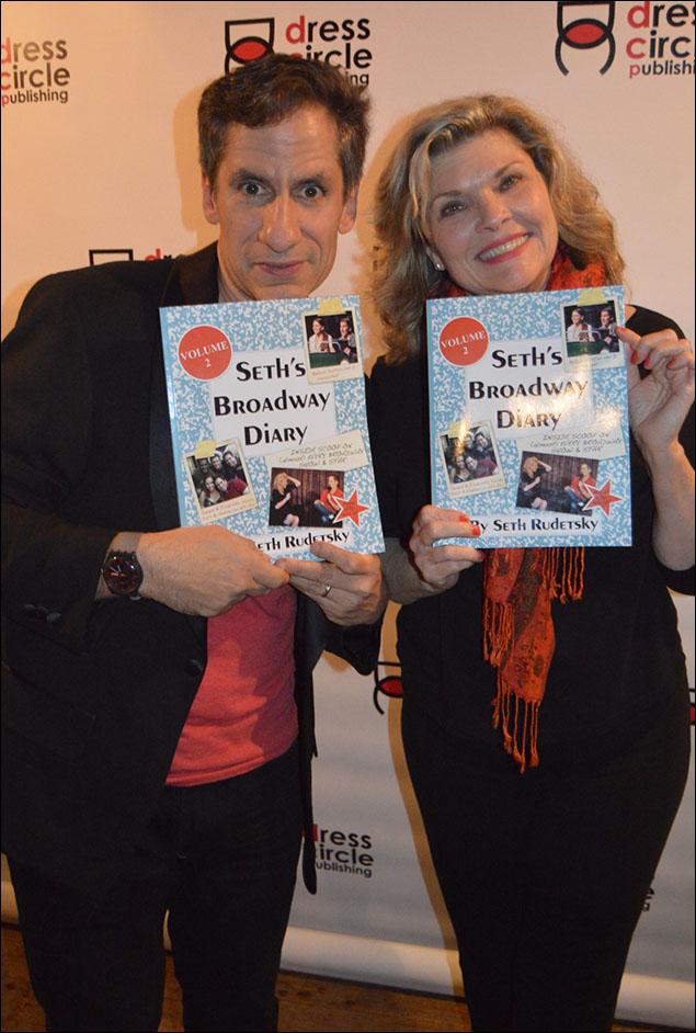 Seth Rudetsky and Debra Monk