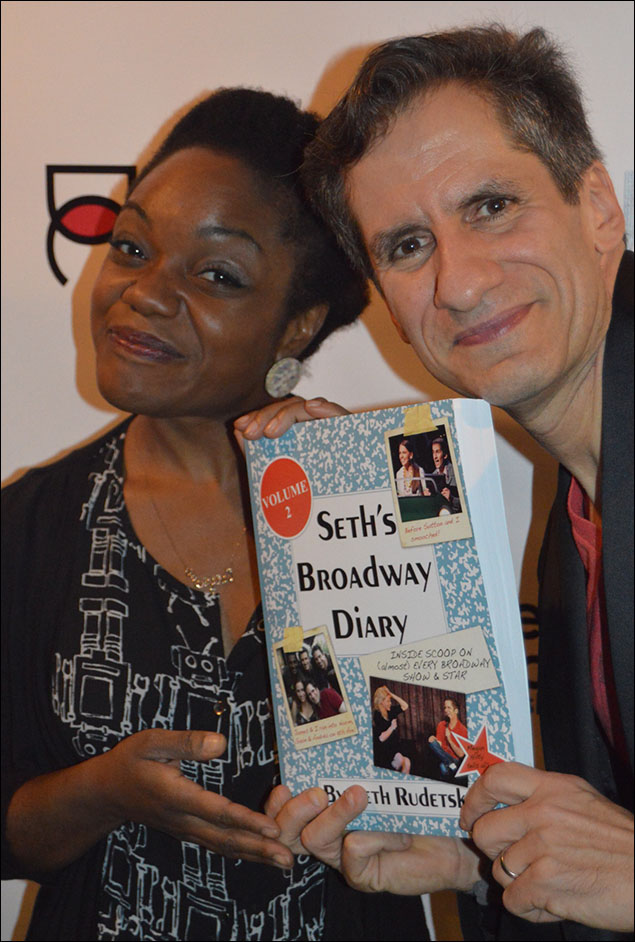 Kenita Miller and Seth Rudetsky