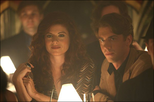 "Christian Borle and Debra Messing in ""Smash"""