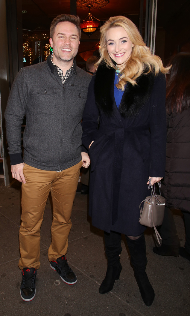 Scott Porter and Betsy Wolfe