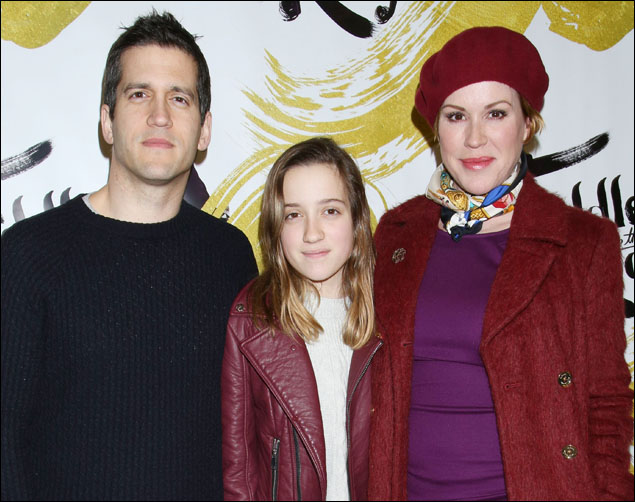 Panio Gianopoulos, Mathilda Ereni Gianopoulos and Molly Ringwald
