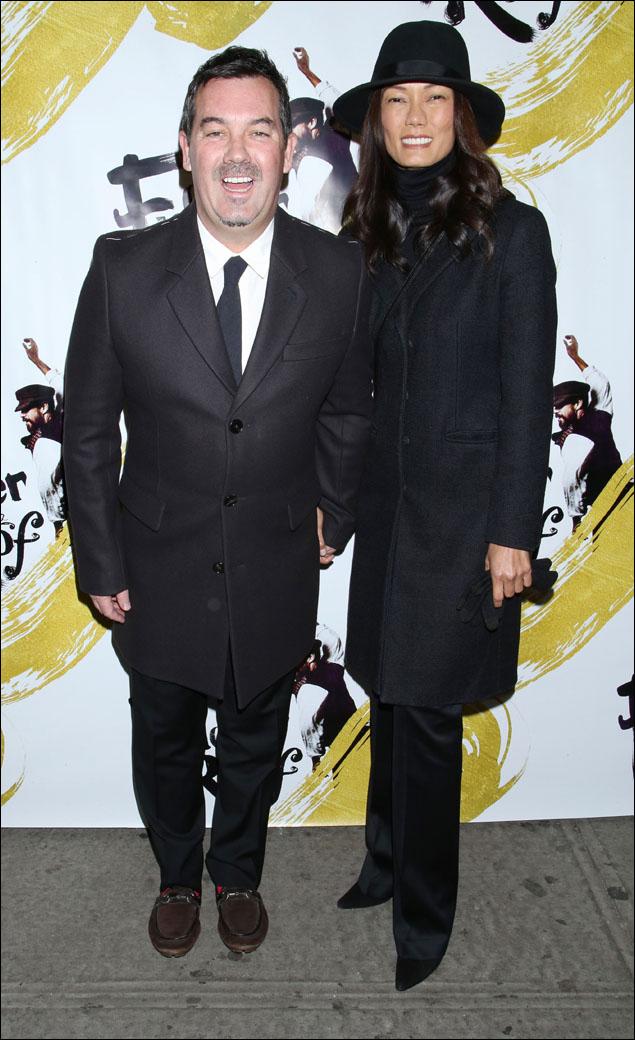 Duncan Sheik and Nora Ariffin