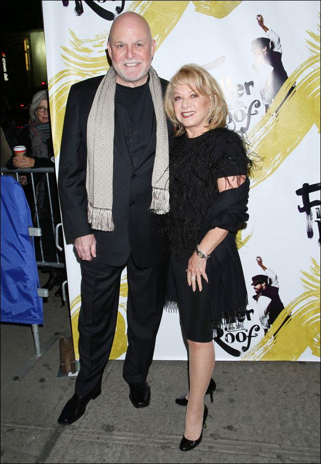 Ron Raines and Elaine Paige