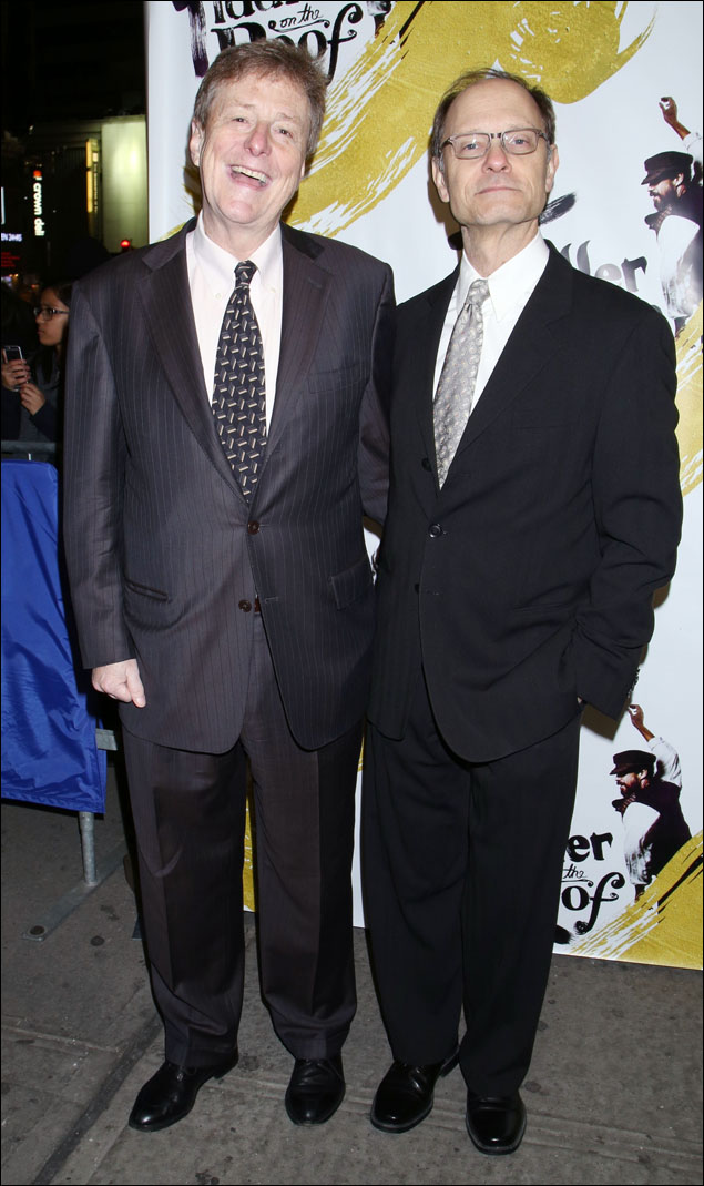 Brian Hargrove and David Hyde Pierce