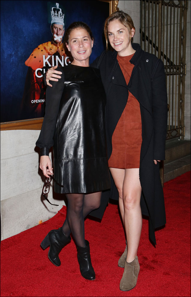 Maura Tierney and Ruth Wilson