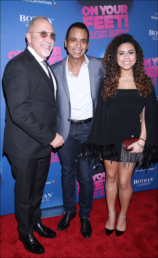 Emilio Estefan, Jon Secada and guest