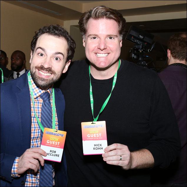 Rob McClure and Nick Kohn