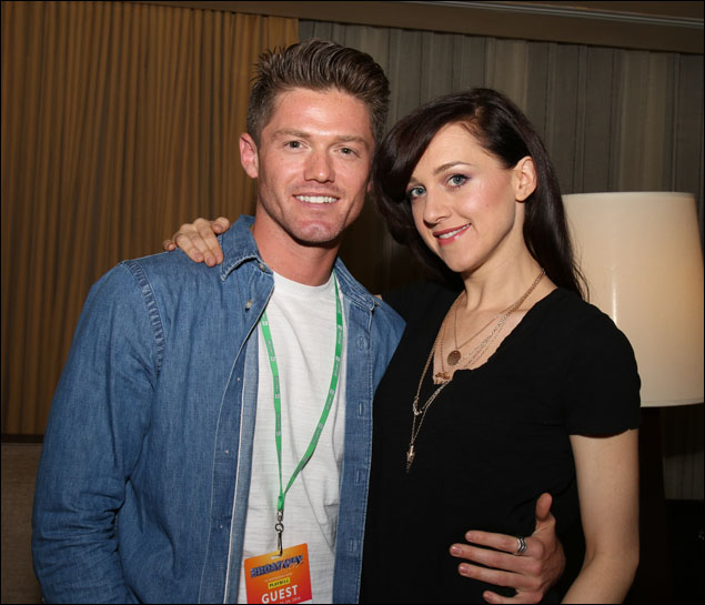 Spencer Liff and Lena Hall