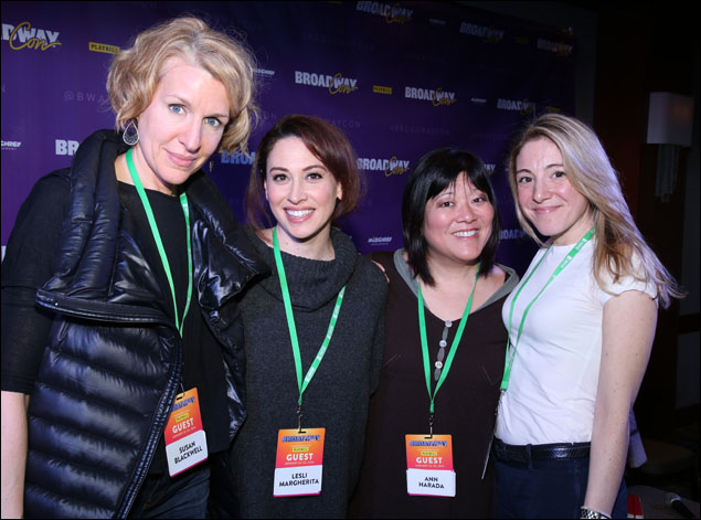 Susan Blackwell, Lesli Margherita, Ann Harada and Blake Ross