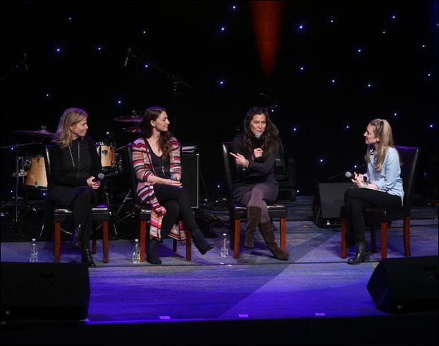 Jessie Nelson, Sara Bareilles, Diane Paulus and Blake Ross