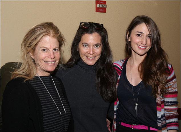 Jessie Nelson, Diane Paulus and Sara Bareilles