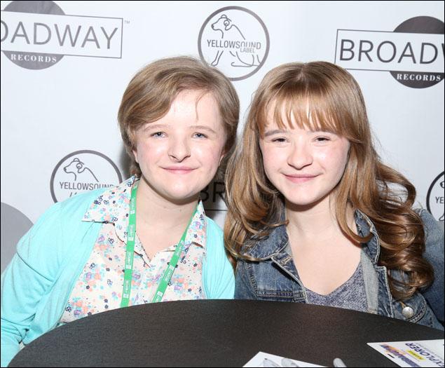 Milly Shapiro and Abigail Shapiro