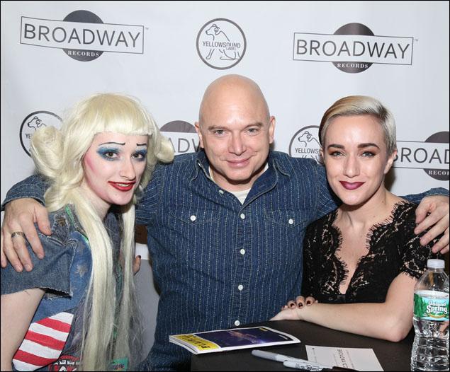 Michael Cerveris, Kimberly Kaye and a fan