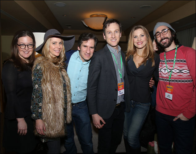 Jennifer Simard, Kerry Butler, Seth Rudetsky, Jack Plotnick, Rachel York and Max Crumm