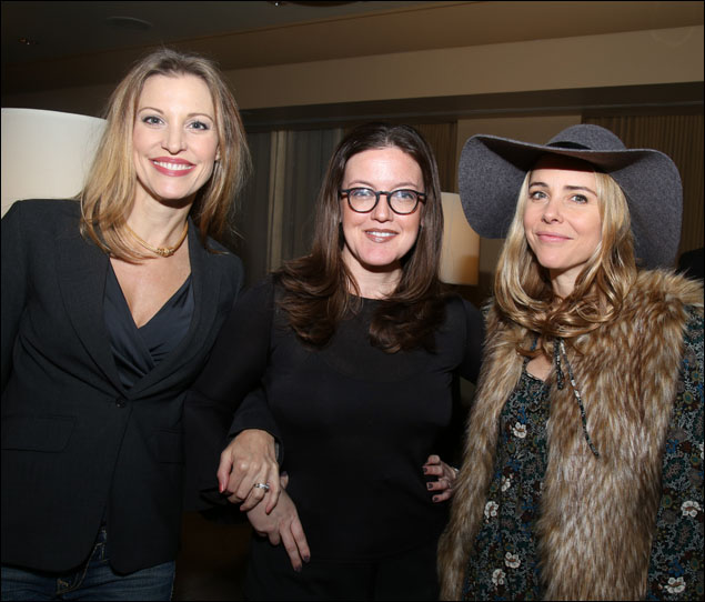 Rachel York, Jennifer Simard and Kerry Butler