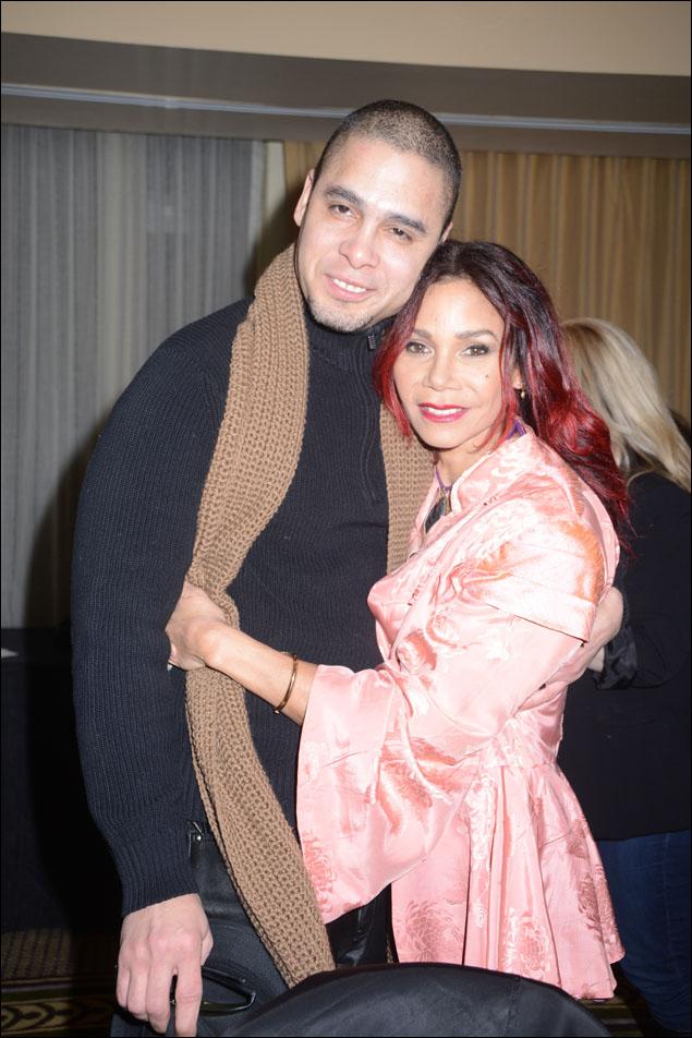 Wilson Jermaine Heredia and Daphne Rubin-Vega