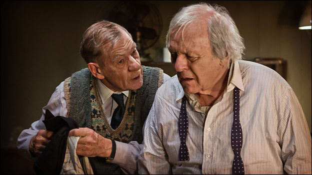 Ian McKellen and Anthony Hopkins