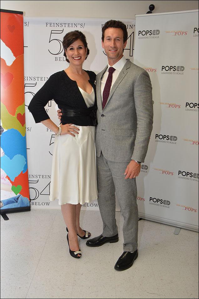 Stephanie J. Block and Aaron Lazar