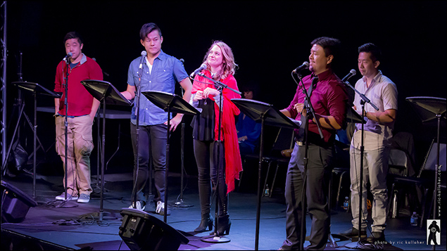 Raymond J. lee, Kelvin Moon Loh, Jenni Barber, Eric Badiqué and Kiet Cao in Costs of Living