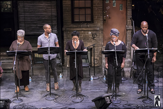 Tina Fabrique, Jon-Michael Reese, Kenita Miller, Q. Smith and Melvin Tunstall in The Last Queen of Canaan