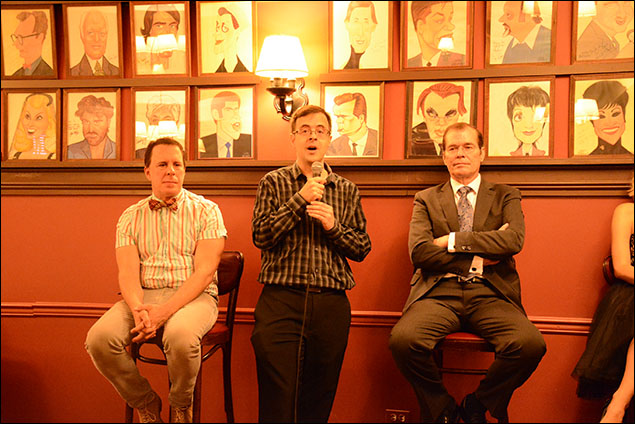 Robert Sher, Van Dean and David McDonald