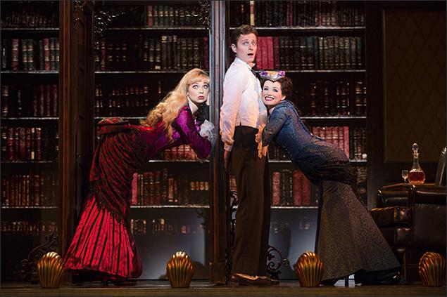 Kristen Beth Williams, Kevin Massey and Adrienne Eller