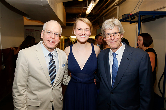 Douglas C. Baker, Kerstin Anderson and Ted Chapin