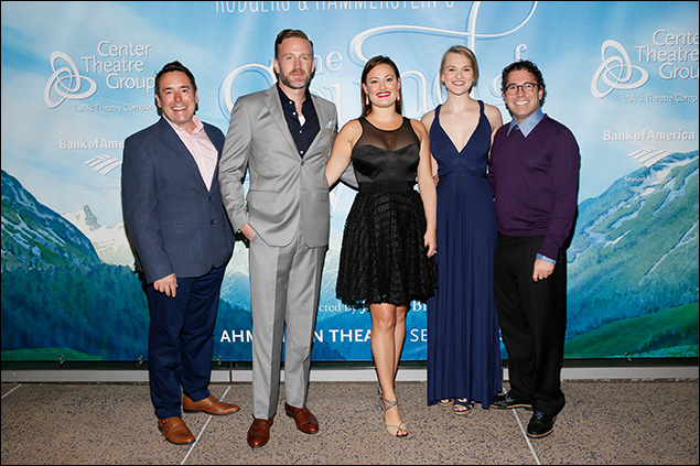 Matt Lenz, Ben Davis, Ashley Brown, Kerstin Anderson and Andy Einhorn
