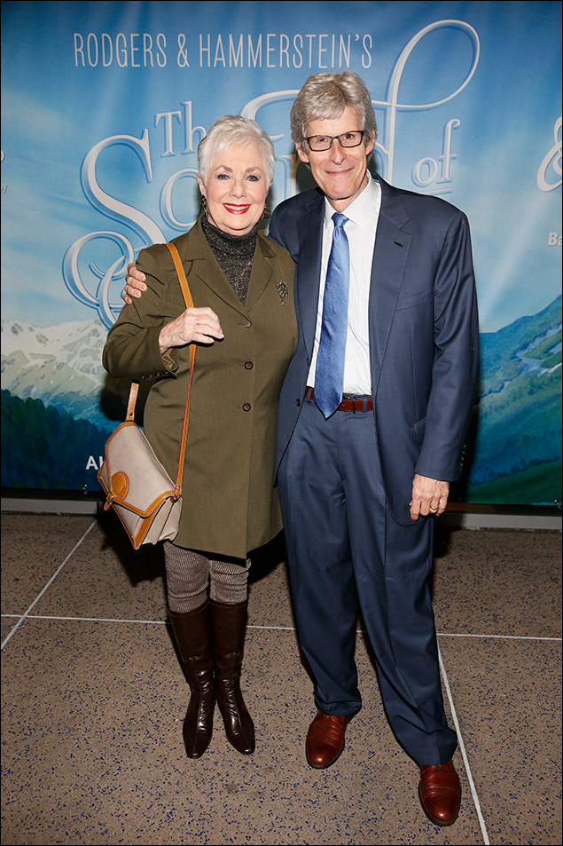 Shirley Jones and Ted Chapin