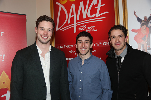 Liam Tobin, Ben Fankhauser and Andrew Brewe