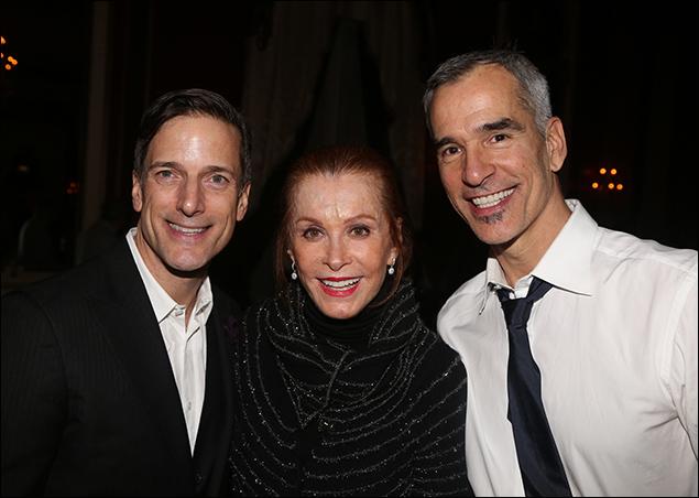 Bill Damaschke, Stefanie Powers and Jerry Mitchell