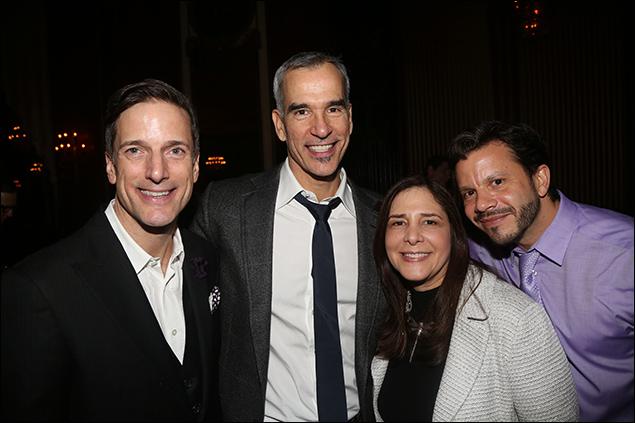 Bill Damaschke, Jerry Mitchell, Dori Berinstein and Nick Kenkel