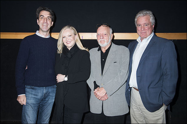 Jason Robert Brown, Susan Stroman, Harold Prince and David Thompson