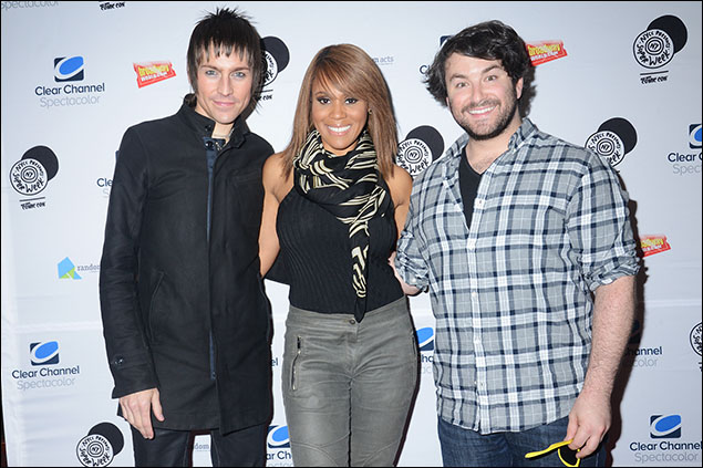 Tony Vincent, Deborah Cox and Alex Brightman