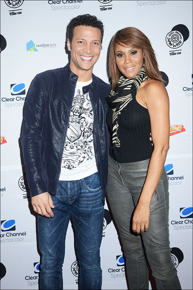 Justin Guarini and Deborah Cox