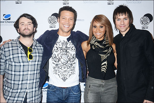 Alex Brightman, Justin Guarini, Deborah Cox and Tony Vincent