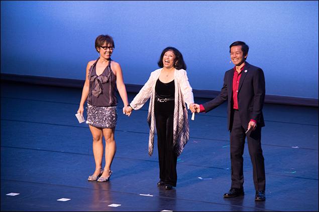 Nina Zoie Lam, Baayork Lee, Stephen Eng