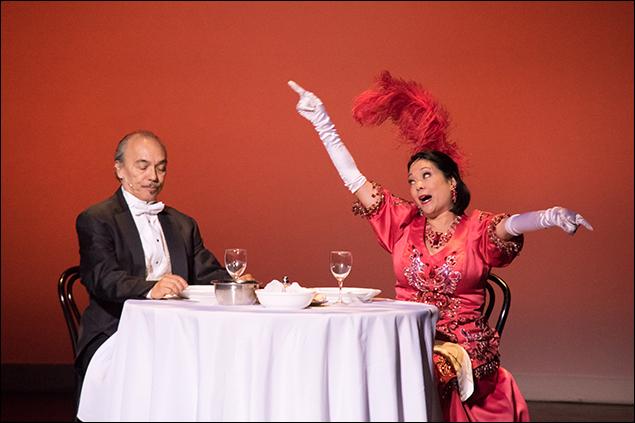 Raul Aranas and Christine Toy Johnson