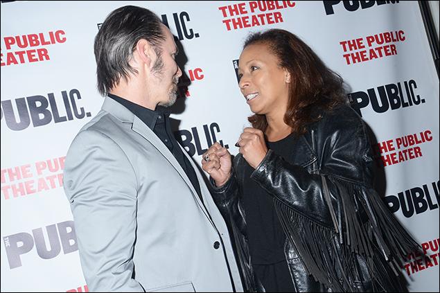 Paul Niebanck and Tamara Tunie