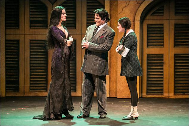 Rachel York, Bronson Pinchot and Micaela Martinez